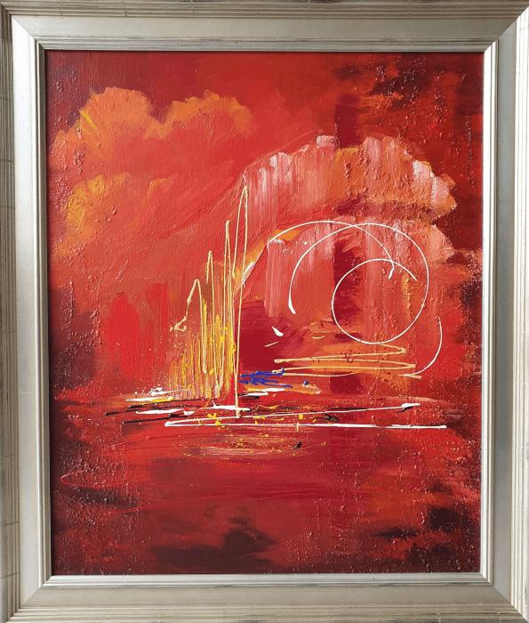 acryl abstract